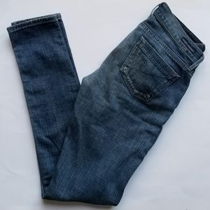 Citizens of Humanity Cruz Low Rise Skinny Jeans 25